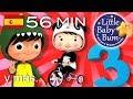 El numero 3  Y muchas mas canciones infantiles  ¡56 minutos de recopilacion LittleBabyBum! -