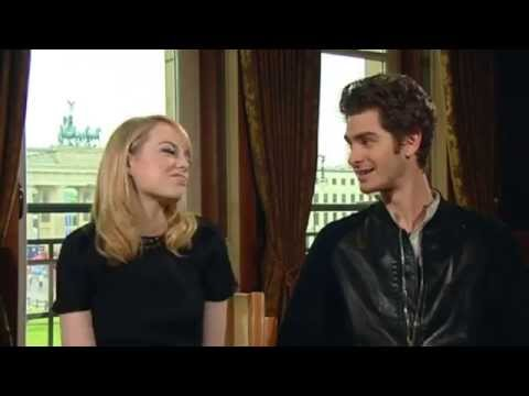 Andrew Garfield and Emma Stone Berlin Interview