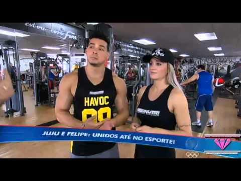 Matéria Da Juju Salimeni E O Felipe Franco No Esporte Fantástico - 05 04 2014 video