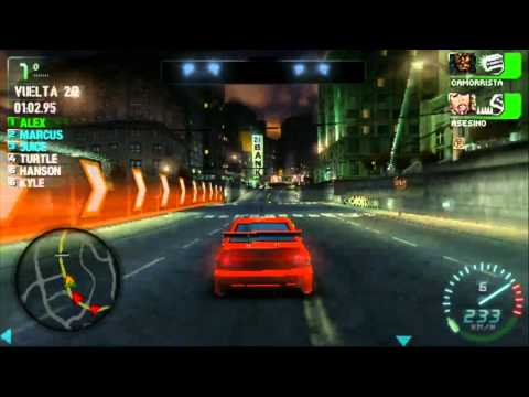 [HD] Need for Speed Carbon: Own the City - Gameplay + Descarga [PSP]