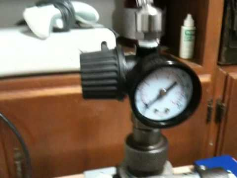 Star Sizer Air Homemade Lube Air  Pressure Modifcation Part 1