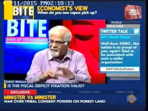 India Today - State of the Economy (featuring Rajiv Kumar)