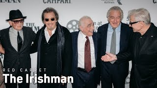 The Irishman World Premiere Red Carpet Interviews | NYFF57