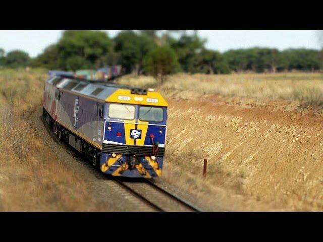 Ultra realistic HO scale model or a freight train in Victoria? - PoathTV Australian Railways