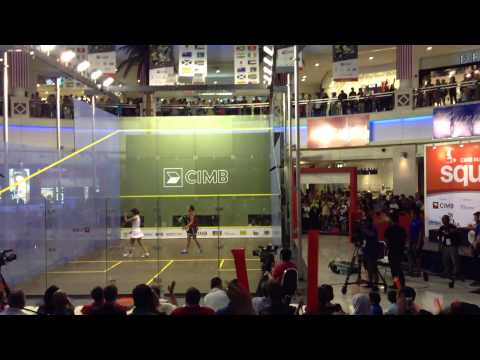 CIMB 2013 Malaysian Open Squash Championship Nicol David