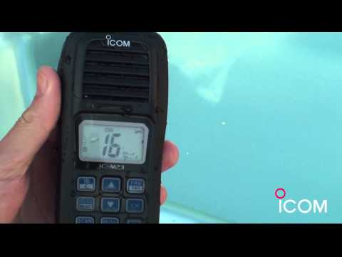 Nouvelle VHF Marine ICOM : IC-M23
