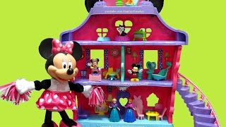 MINNIE MAGICAL BOW & SWEET HOME Toy Review | itsplaytime612