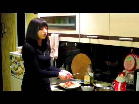 """""""Салат"""" из макарон, яиц и творога - рецепт на массу"""