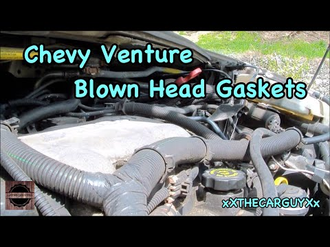 Blown Head Gasket On A Chevy 3400 Motor [HD]