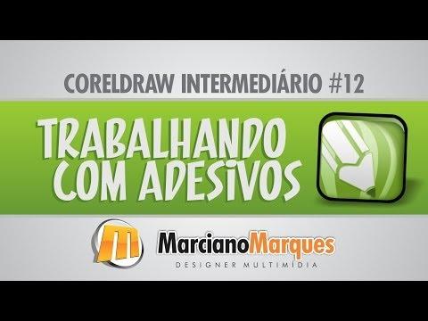 Trabalhando com Adesivos // CorelDRAW Intermediário #12