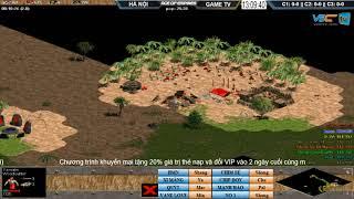 AoE 44 Random Hà Nội vs GameTV 7-11-2017