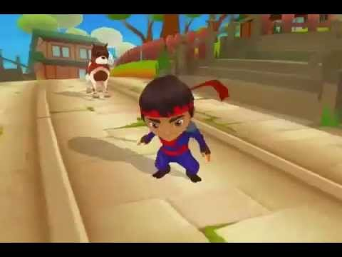Ninja Kid Run Free - Fun Games APK Cover