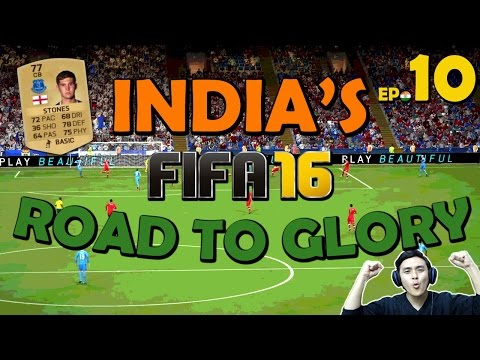 FIFA 16 India's Road to Glory #10 - Gold Upgrade (Ultimate Team PS4 Gameplay)