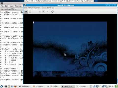 0 [Urdu CBT]   Linux System Administration   001   Linux Run Levels