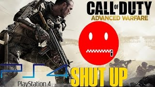 """Angry Advanced Warfare Reactions """"Hey Shut Up"""" AW Trolling on PS4"""