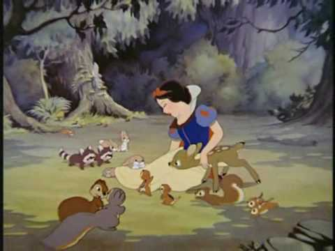 Snow White-With a Smile and a Song-(French 2001) Music Videos