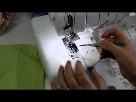 Baby Lock Evolution Serger Change to Coverstitch