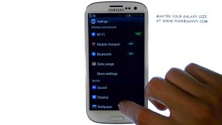 Samsung Galaxy SIII - How do I Remove or Delete an Email Account