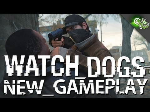 Watch Dogs NEW GAMEPLAY! Hacking, Open World Details, Notoriety, and more! Adam Sessler Interview