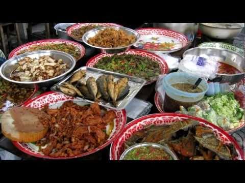 Utcai ételek - Bangkok, Thaiföld
