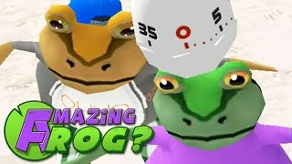NEW KNOCKDOWN MINI-GAME! - Amazing Frog (Update Beta) - Part 50 | Pungence
