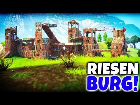 Das GRÖßTE Schloss in Fortnite Battle Royale bauen!