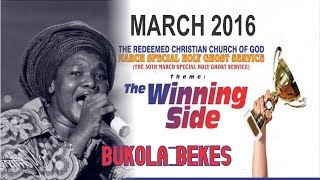 Bukola Bekes @ MARCH 2016- RCCG HOLY GHOST SERVICE_ DAY 2