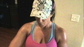 Kelly Olexa Sweaty Vlog 5.28.12