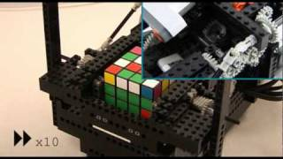 ARM Powered LEGO/Nokia 4x4x4 Rubik