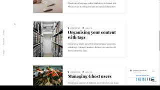 Bibi - Clean and Minimal Ghost Blog Theme        Windsor Cedar
