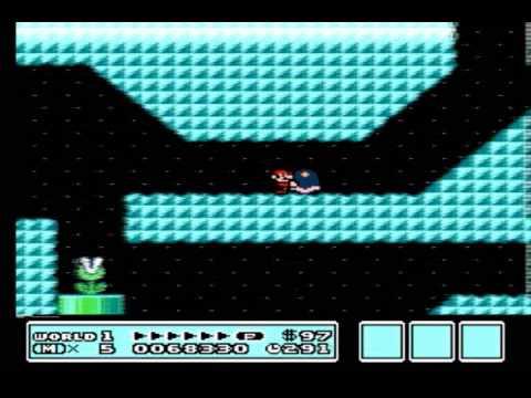 Super Mario Bros 3 - World 1 - User video