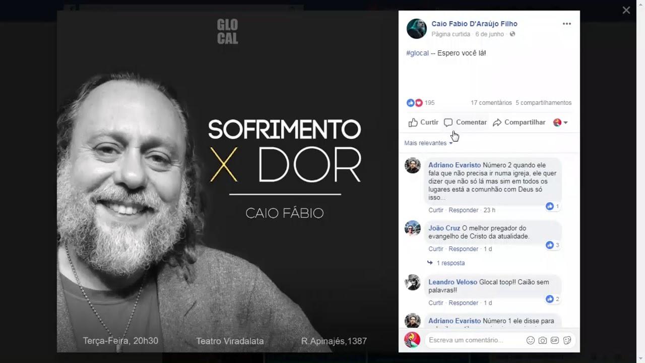 Ta no Face - Acompanhe tudo que está rolando no Facebook do Caio!