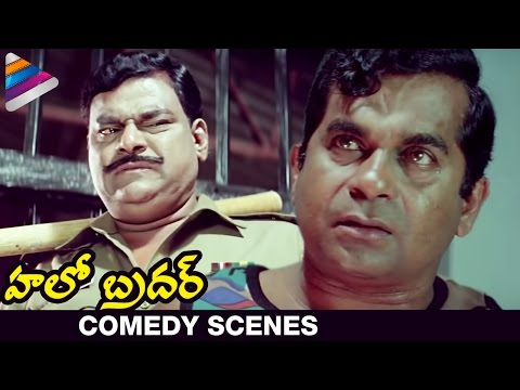 Brahmi's Famous Dialogue - Nenu Commongane Chusanu, Nuvve Kangaru Paddav - Hello Brother Scenes video