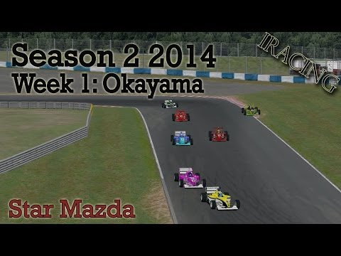 iRacing - Season 2 2014 - Star Mazda - Week 1: Okayama Circuit (#2)