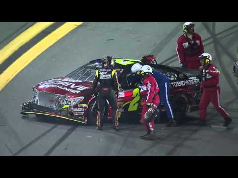 Stewart and Ambrose start wreck at 2013 Sprint Unlimited