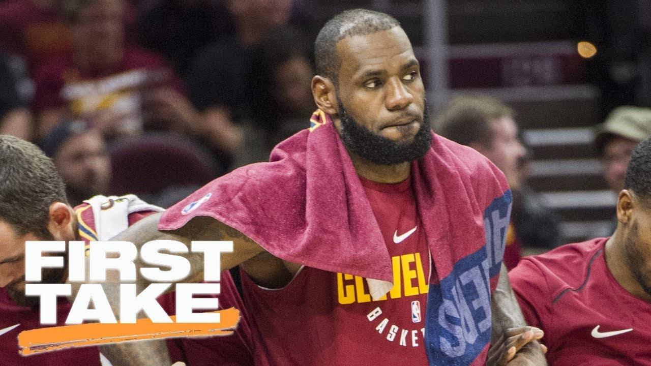 LeBron James out for rest of preseason: Will he play in Cavs vs. Celtics opener? | First Take | ESPN