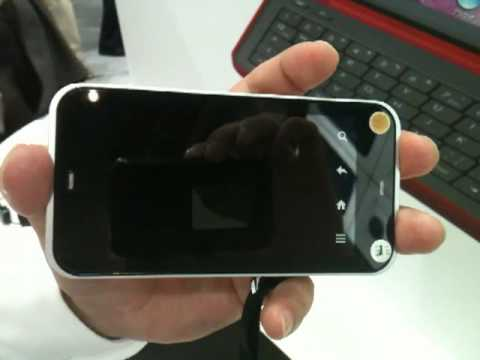 [CEATEC 2010 Video] Sharp to introduce its android smartphone  IS03