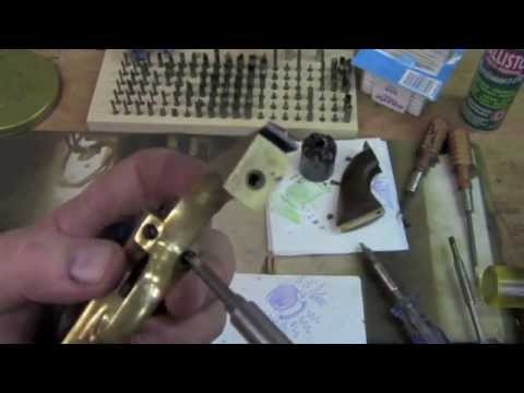 Disassembly and cleaning Colt Cap and Ball Revolvers - Part 2.mov