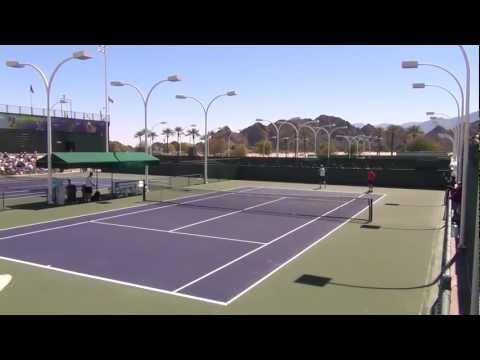 Federer,Nadal,Haas,Wawrinka,Wozniacki,Gulbis (Indian Wells 2013)