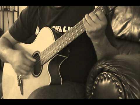 Tumse Milke Aisa Laga  - Parinda Guitar cover 3