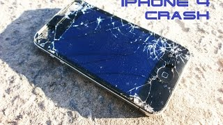 iPhone 4: Drop test / Тест на падение