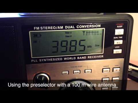 Testing the MFJ-1046 Antenna Preselector
