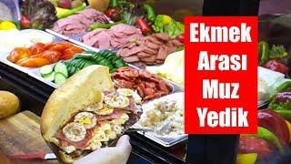 12 TL'ye 15 Malzemeli Sandviç ve Ekmek Arası Meyve Yedik: Soğukçu Efe İZMİR