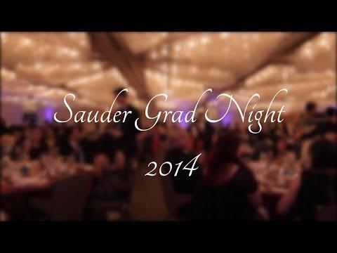 UBC Sauder Grad Night 2014 [AFTER MOVIE]