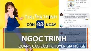 Ngọc Trinh quảng cáo sách: Chuyên gia nói gì? | VTC1