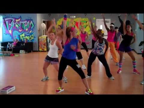 The Time (dirty Bit) Cardio Dance Fitness Warm Up video