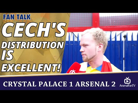 Cech's Distribution Is Excellent!  | Crystal Palace 1 Arsenal 2