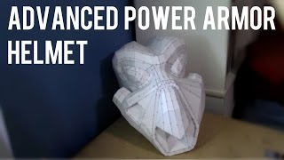 Fallout 2 - Advanced Power Armor Helmet (Pepakura Build)