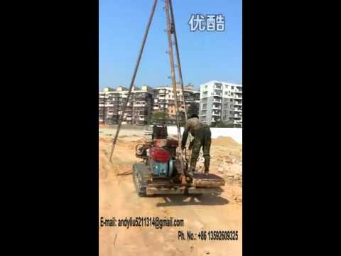 hydraulic drilling rig video 02 for upload