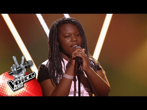 Karry - 'Love On The Brain' | Blind Auditions | The Voice Kids | VTM